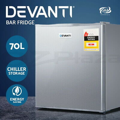 Devanti 70L Portable Bar Fridge Electric Refrigerator Cooler Freezer Office Home