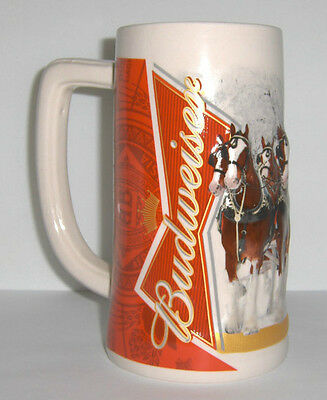 2012 Budweiser Holiday Stein Annual Series, from 5 years ago Christmas Beer Mug