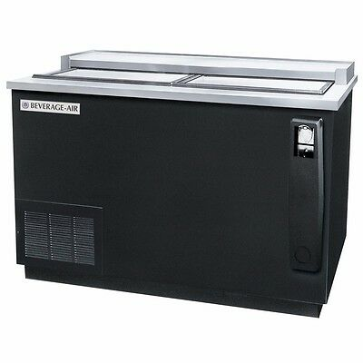 "Bottle Cooler, Flat Top, 50"" Wide, 2 Sliding Lids, Beverage Air DW49-B"