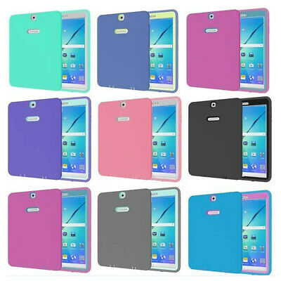 For Samsung Galaxy Heavy Duty Shockproof Hybrid Hard Rubber Case Defender Cover