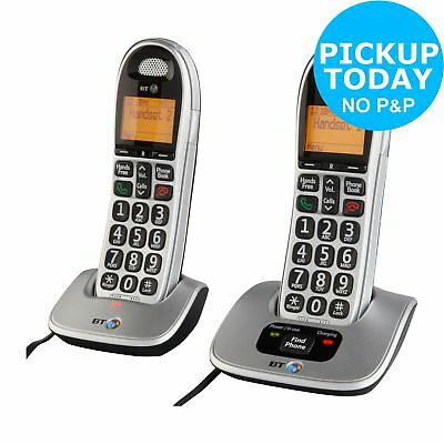 BT Big Button 4000 Cordless Telephone - Twin