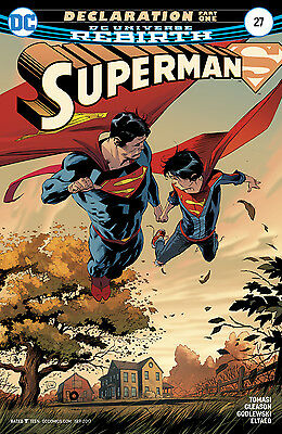 SUPERMAN #27, New, First print, DC REBIRTH (2017)
