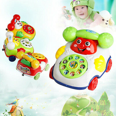 Baby Toys Music Cartoon Phone Educational Developmental Kids Education Toy Gifts