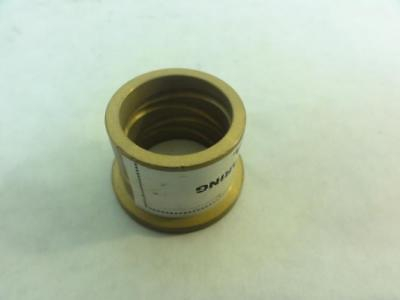 """168254 Old-Stock, General 2869T16 Grooved Bronze Flanged Sleeve Bearing, 1"""" ID"""