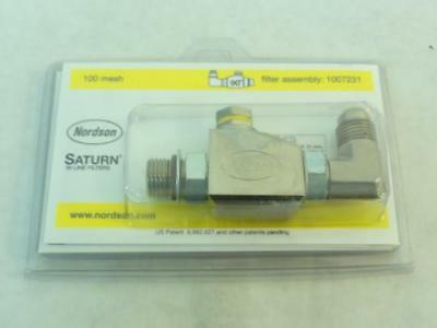 168284 New-No Box, Nordson 1007231 Saturn In Line Filter, 100 Mesh