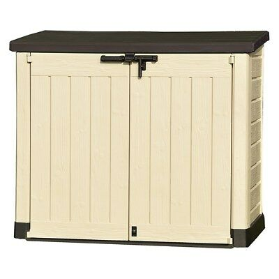 Keter Store-It-Out-Max Outdoor Garden Tool Storage Unit 17199418 PRD138
