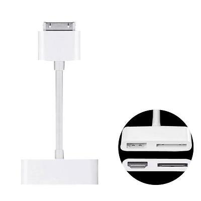 Dock Connector to HDMI HDTV TV Adapter Cable for Apple iPad Mac iPhone 7 7S #7