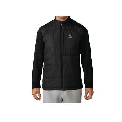 Adidas Golf 2017 Climaheat Primaloft Insulated Full Zip Jacket (Black)