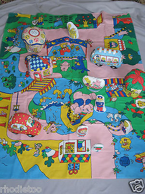 Soft Activity Mat Map Play Set Rattle Baby Nursery Toddler Learning Toy Town Car