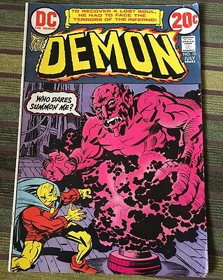 DC Comics The Demon #10 1973 Bronze Age Jack Kirby Mike Royer