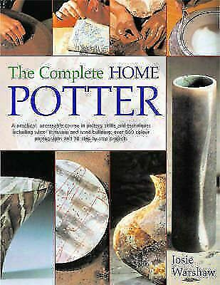 """NEW """"The Complete Home Potter"""" Large Hardcover by Josie Warshaw"""