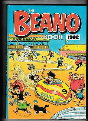 The Beano Book/annual 1982 Not Price Clipped Vgc No Writing