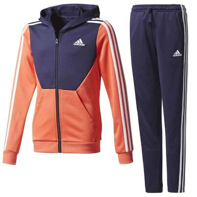 Adidas Hooded Polyester Tracksuit Chándales