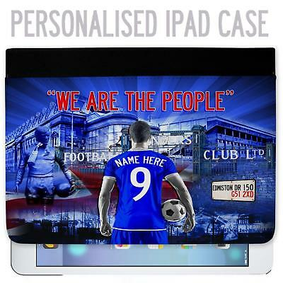 Glasgow Rangers Football iPad Tablet Case Cover Personalised Gift UnofficialAF57