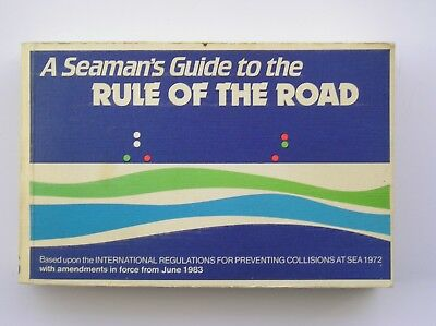 A Seaman's Guide To The Rule Of The Road Self Teaching Book 1983