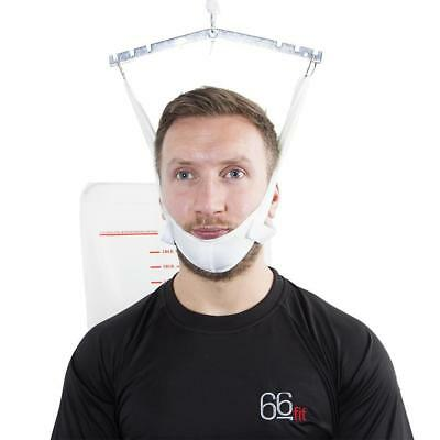 66fit Over Door Neck Traction Unit - Cervical Stretcher Posture Corrector