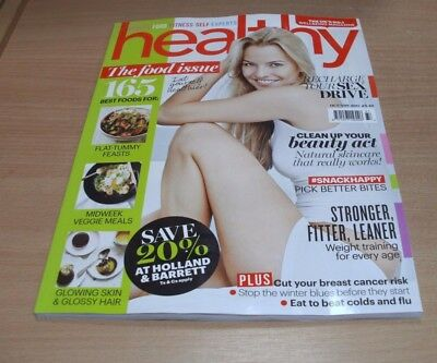 Healthy magazine OCT/NOV 2017 The Food Issue, Snack Better, Sex Drive Recharge &