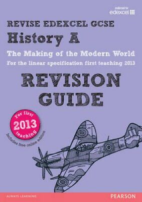 REVISE Edexcel GCSE History A The Making of the Modern World Re... 9781292097121