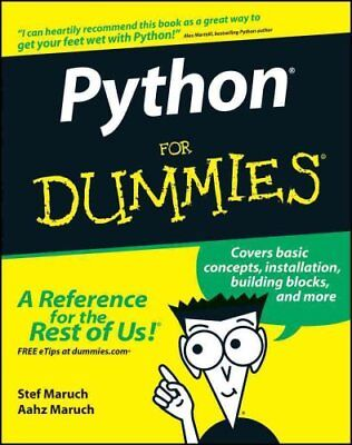 Python For Dummies by Stef Maruch 9780471778646 (Paperback, 2006)