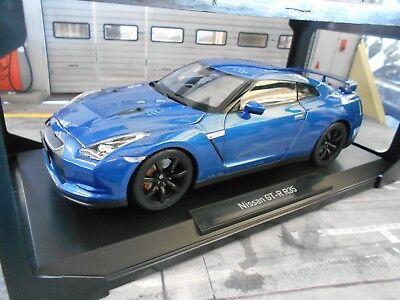 2008 nissan gtr r35 blau metallic 1 18 norev 188052 eur. Black Bedroom Furniture Sets. Home Design Ideas