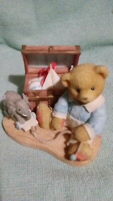 """CHERISHED Teddies Wilfred--""""A Lifetime of Friendship--A Trunk Full of Memories"""""""