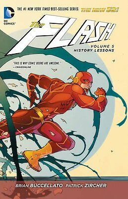 Flash Volume 5 History Lessons Hardcover GN Barry Allen Reverse N52 New NM