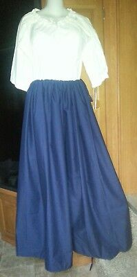 18th Century Historical Reproduction Petticoat (one size fits all)