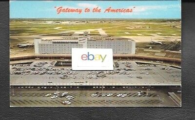 Miami International Airport National & Eastern Dc-8 Gateway America's Postcard