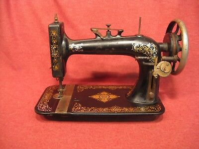 "Vintage  Cast Iron treadle Sewing Machine "" SOLD AS IS """