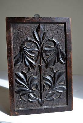ARTS & CRAFTS CARVED WOOD PANEL Home Arts Industries Association Cheltenham 1889