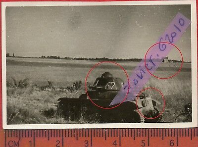 S10  photo orig all CHAR TANK PANZER à localiser   FRANCE 1940 ww2