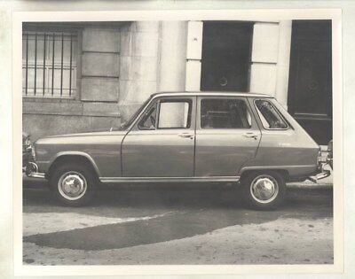 1968 ? Renault IKA 16 in Argentina ORIGINAL Factory Photograph wy5685