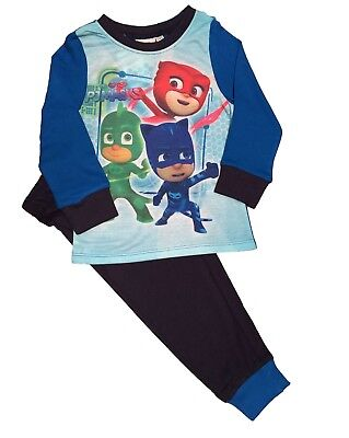 Kids Boys PJ Masks Pyjamas Pjs Sleepwear Ages 18 months to 5 years (MA4)