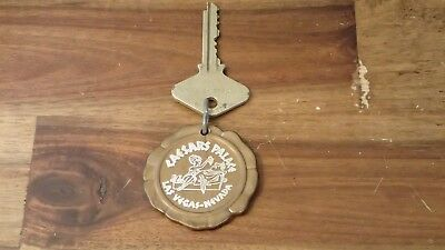 Vintage Caesars Palace Las Vegas Nevada Room Key And Fob Room 4807