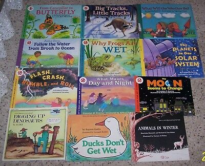 Lot Of 12 Let's Read And Find Out Science Books Stage 1 And 2 * 4 Hb