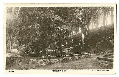 Woodside, Aberdeen - a photographic postcard of Persley Den