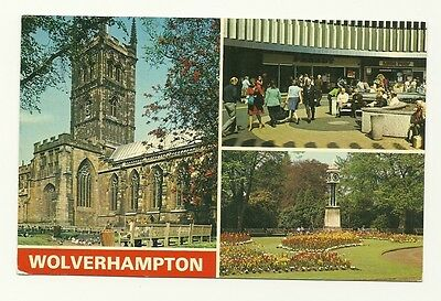 Wolverhampton - a photographic multiview postcard