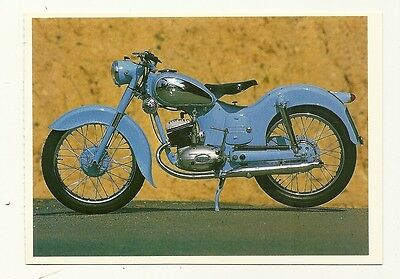 Puch 125 TL (?) Motor Cycle - a larger format, photographic postcard