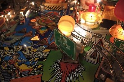 Red & Ted's Road Show Pinball WARNING LIGHTS MOD (start city, extra ball ...)