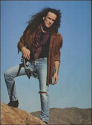 Vivian Campbell (Riverdogs / Def Leppard) 1990 frameable 8 x 11 pinup photo