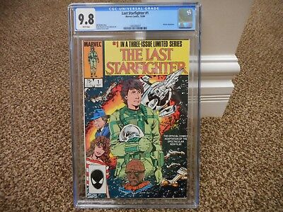 The Last Starfighter 1 cgc 9.8 Marvel 1984 1st issue appearance movie star wars