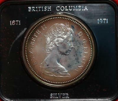 Uncirculated 1971 Silver Canada $1 Dollar Foreign Coin Free S/H