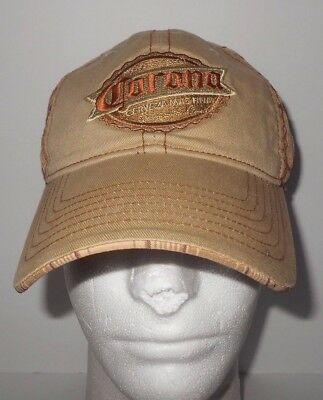 6556ca64b4c CORONA EXTRA BEER Hat Baseball Cap Brown Cotton w Embroidery ...