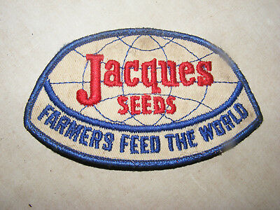 Vintage Jacques Seed Corn, Farmers Feed The World, Farm Planting Patch