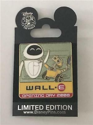 2008 Dcl Wall-E & Eve Opening Day Le 750 Disney/pixar Pin 63687 Vhtf