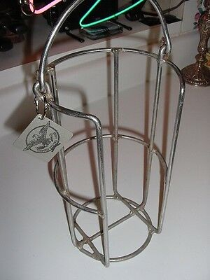 """SS UNITED STATES LINES  5"""" Fruit Dish Carrier Rack  /  Excellent Condition"""