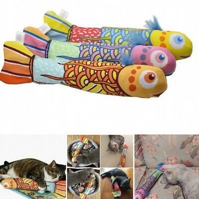 Interactive Fancy Catnip Cat Pillow Funny Toy Teeth Grinding Claws Pets Toys