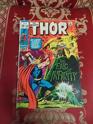 The Mighty Thor #188 May 1971 Bagged Marvel Comic