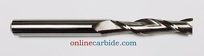 """3/8"""" 2 FLUTE EXTRA LONG CARBIDE END MILL (1-3/4 x 4)"""