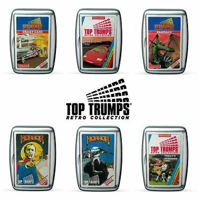 Top Trumps Card Games - RETRO COLLECTION! - Brand New for 2017